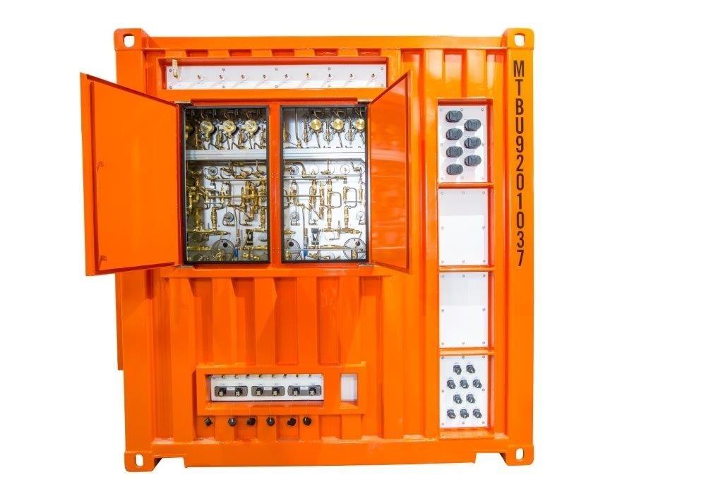 集装箱潜水系统