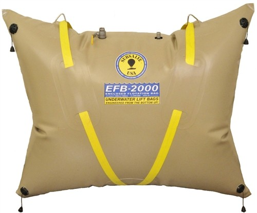 Subsalve USA Enclosed Flotation Commercial Lift Bag