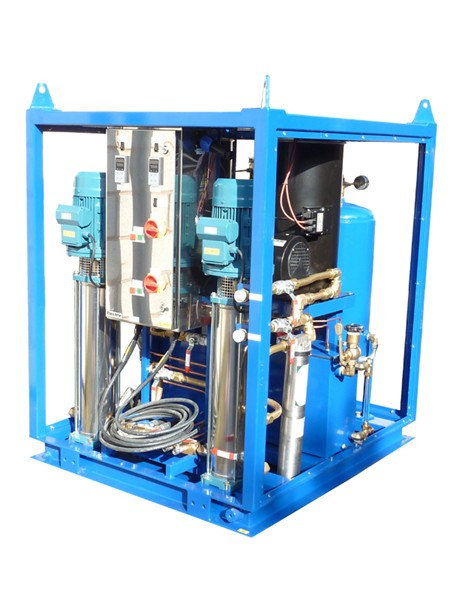 Two Diver Hot Water Machine with Twin Pumps