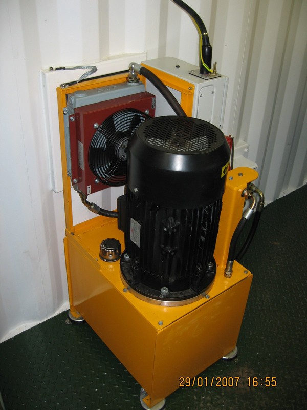 Electric Powered Hydraulic Power Pack