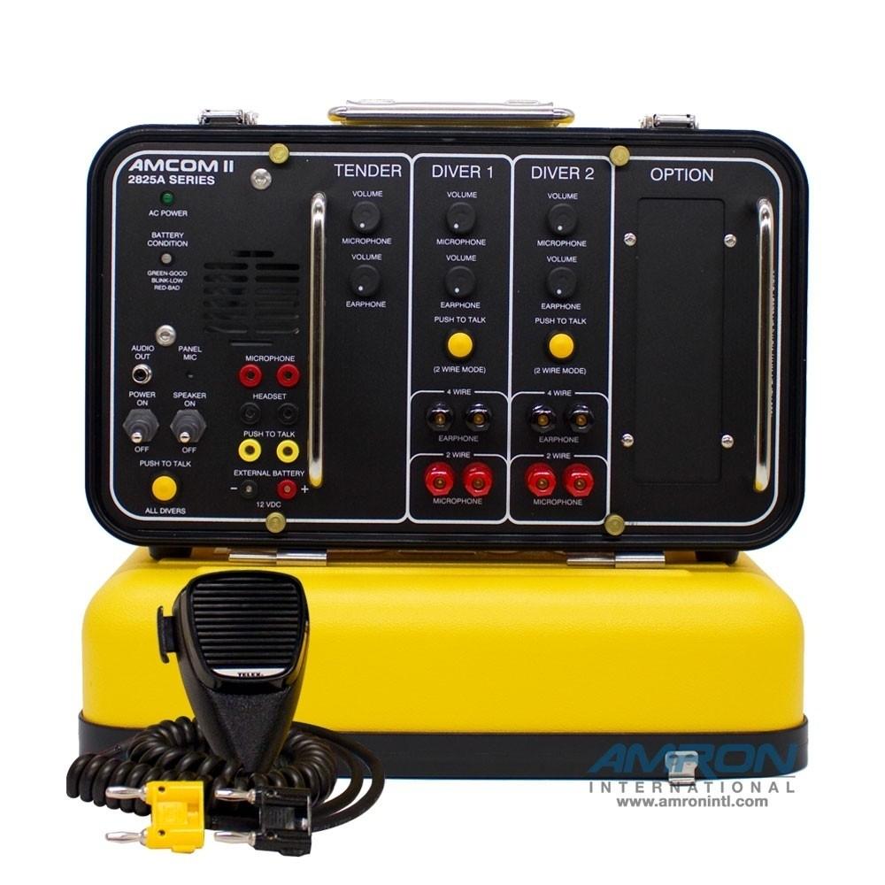 Amron Amcom II 2-Diver Deluxe Portable Non-Rechargeable Communicator