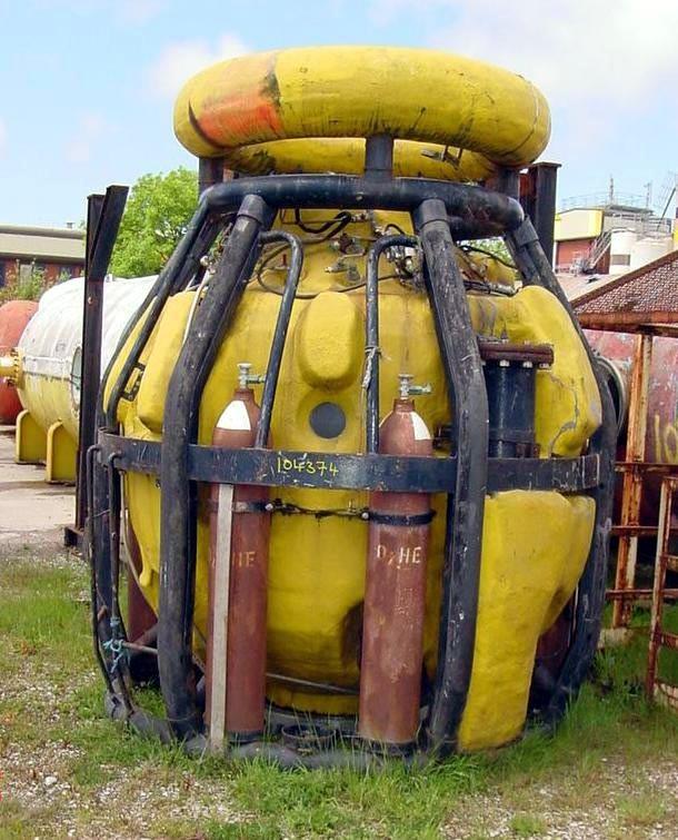 Draegar 2 Man Saturation Diving Bell