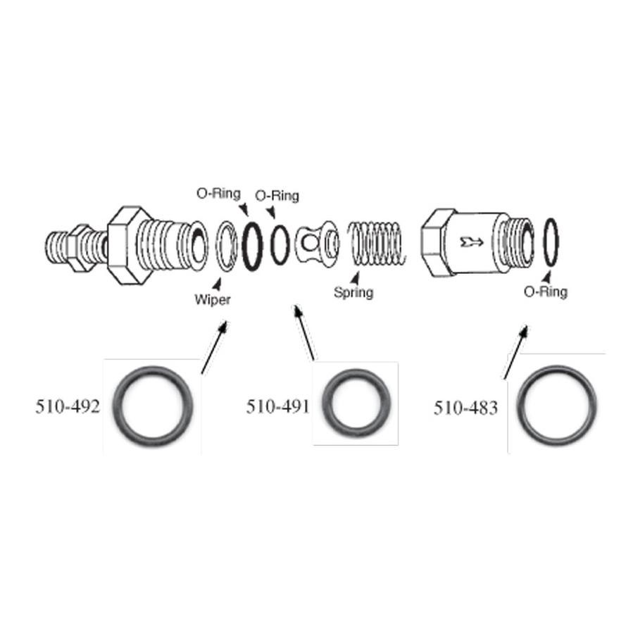 Kirby Morgan One Way Valve Kit for all KM Dive Helmets