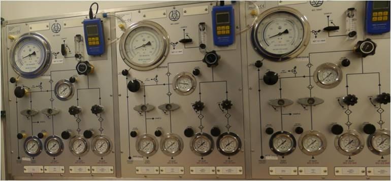 Diver Modular Air Diver Panel IMCA & OGP Compliant Wall Mount in Aluminium Case