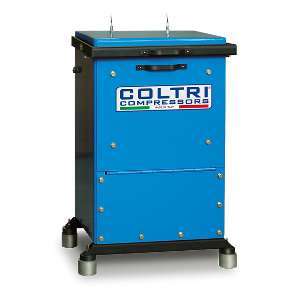 Coltri Fill containment cabinet single cylinders