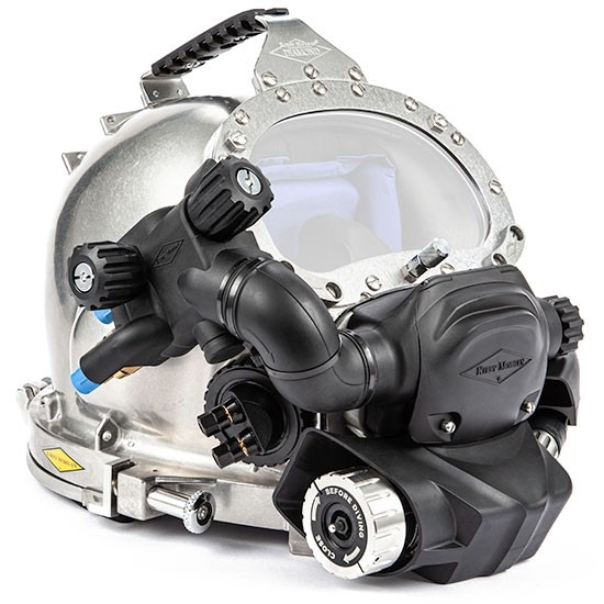 Kirby Morgan Diamond Commercial Diving Helmet