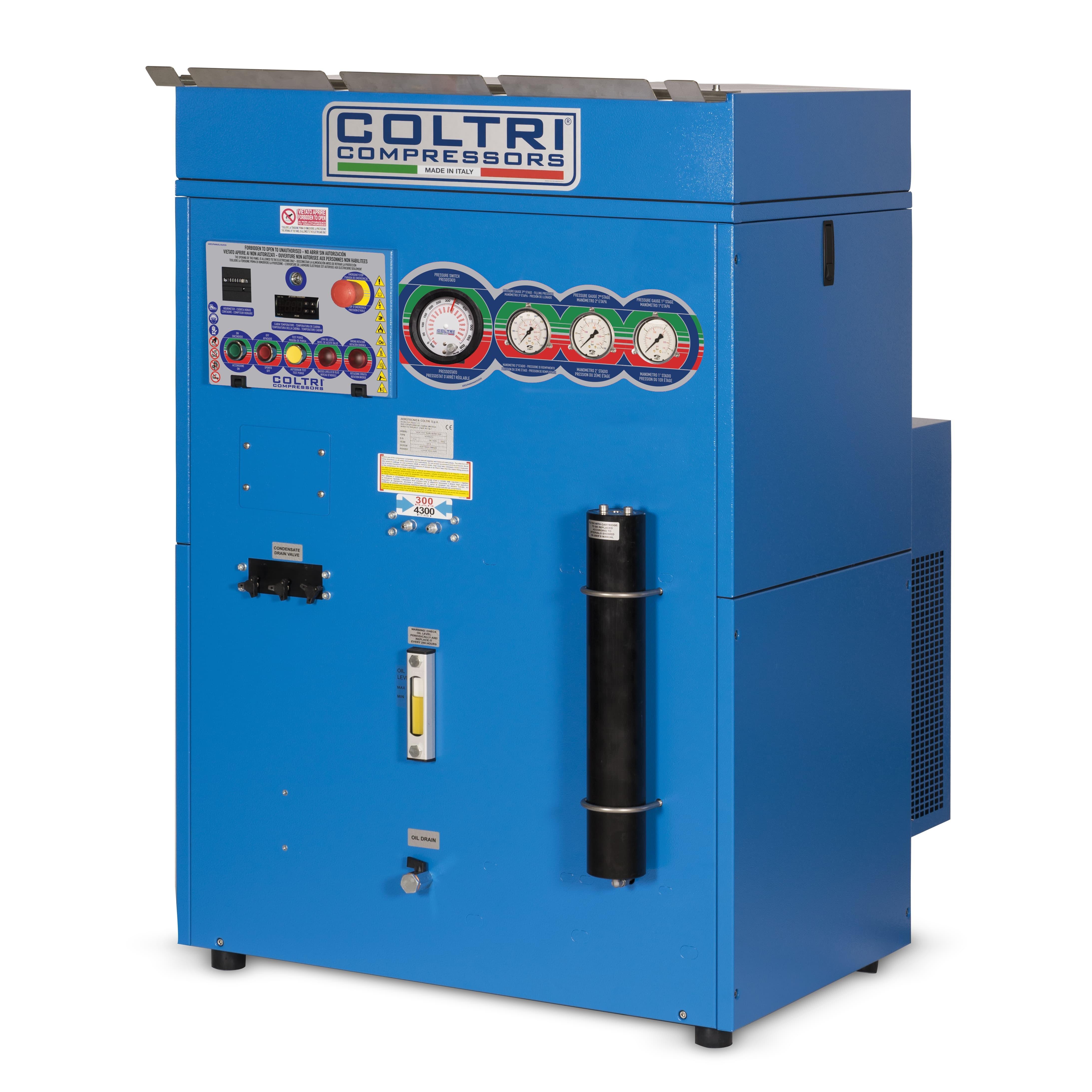 Coltri MCH 13/16/18 Super Silent Evo Compressor
