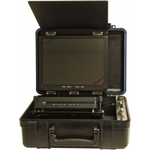 UWS-3470/D Complete Dual Color HIGH DEFINITION Video System With LED Lights