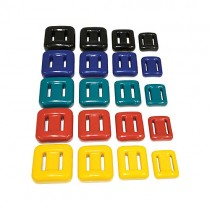 2kg Plastic Coated Weights