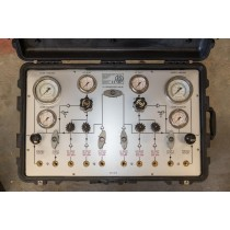 2 Diver HP/LP Control Panel In a Pelicase