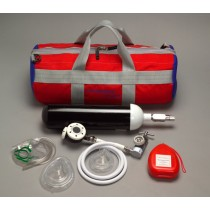 Oxygen Resus Kit with Cylinder  Soft Case