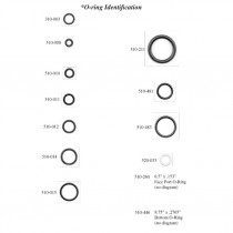 Kirby Morgan O-ring Kit for Dive Helmet 17B