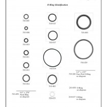 Kirby Morgan O Ring Kit for Dive Helmets KM27 KM37 and KM57