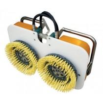 Twin Brush Machine