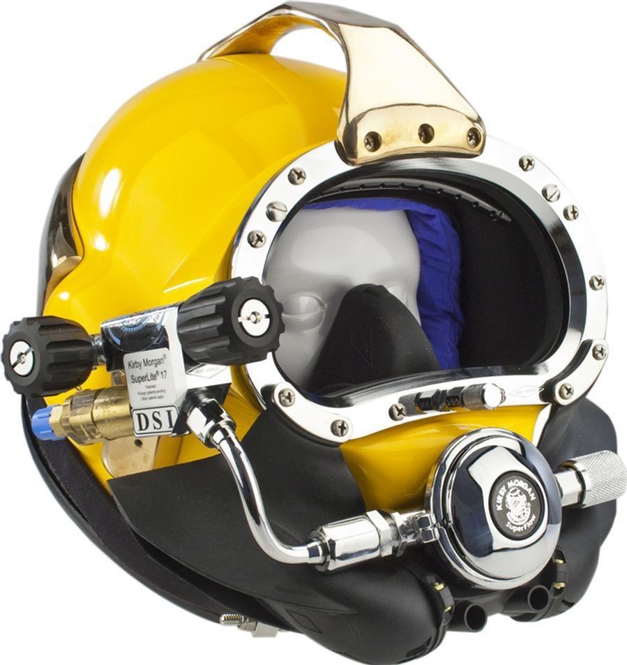 Kirby Morgan Superlite 17B Commercial Diving Helmet