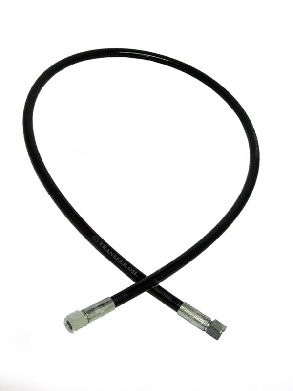 1.2 metre Breathing Air Compressor Whip Hose with 4 JIC Fitting each end