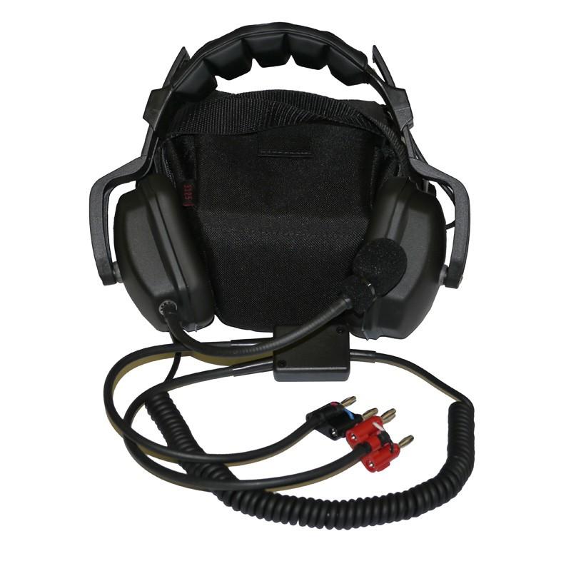 Amron Headset with dual Banana Plugs