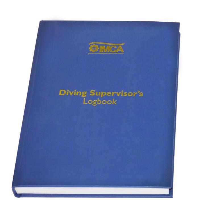 IMCA Professional Diving Supervisors Log Book
