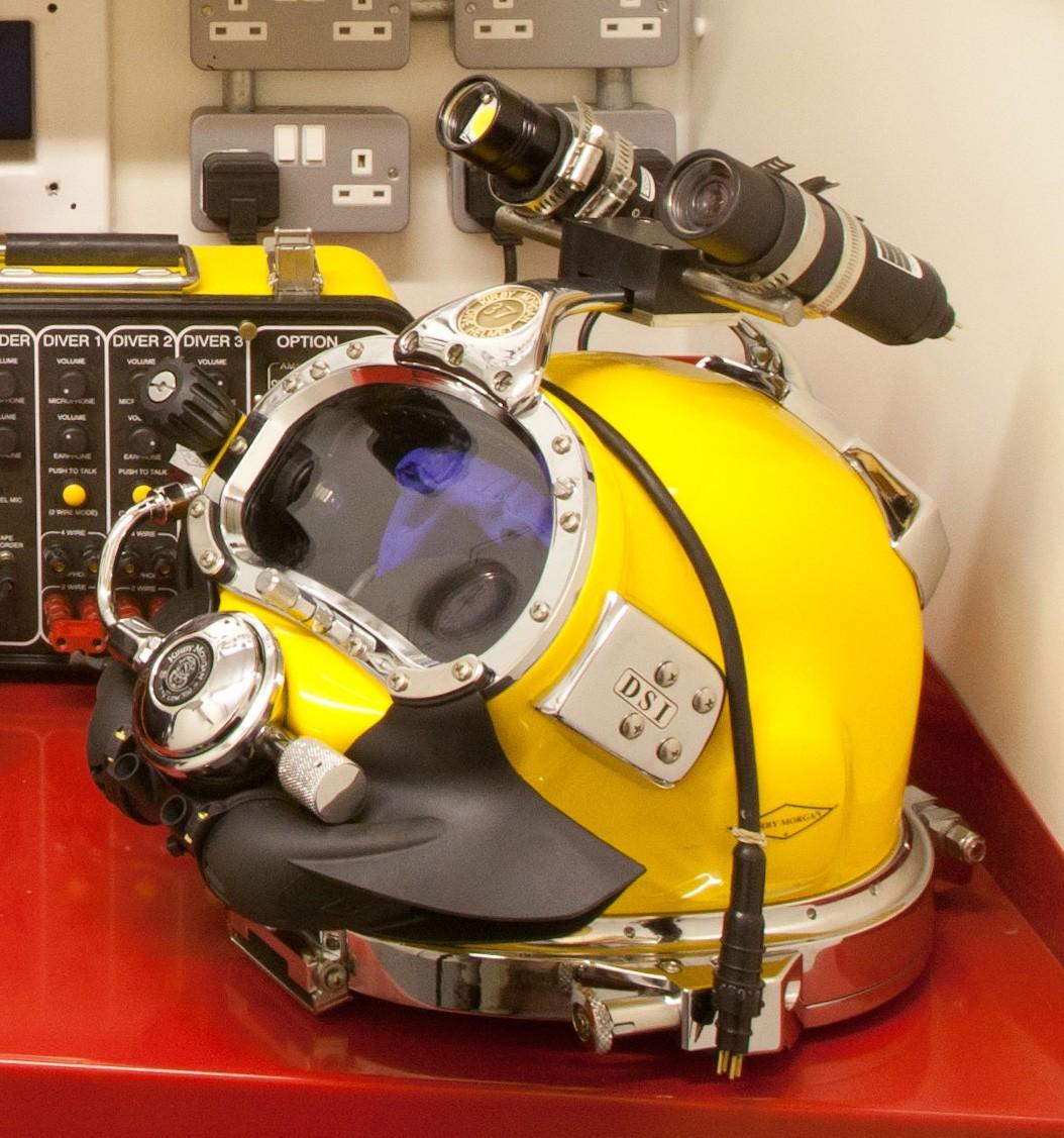 Hat Bracket (suits Kirby Morgan 37 Diving Helmet Handle)
