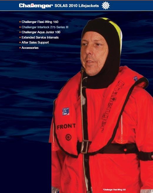 Challenger Solas 2010 Lifejackets