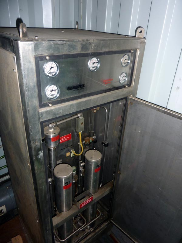 Diver Gasmizer Top Side Processing Package