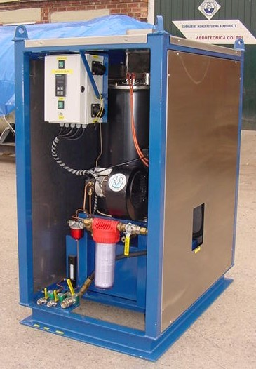 Single Diver Hot Water Machine