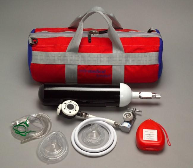 Oxygen Resus Kit with Cylinder  Soft Case