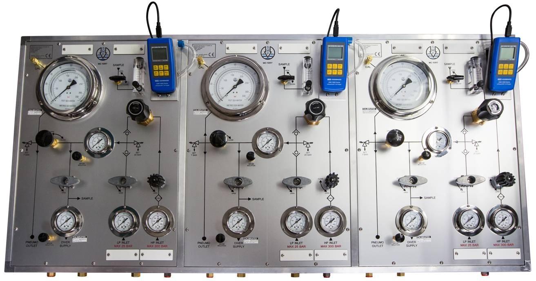 Diver Economy Modular Air Diver Panel IMCA Compliant Wall Mount In Aluminium Case