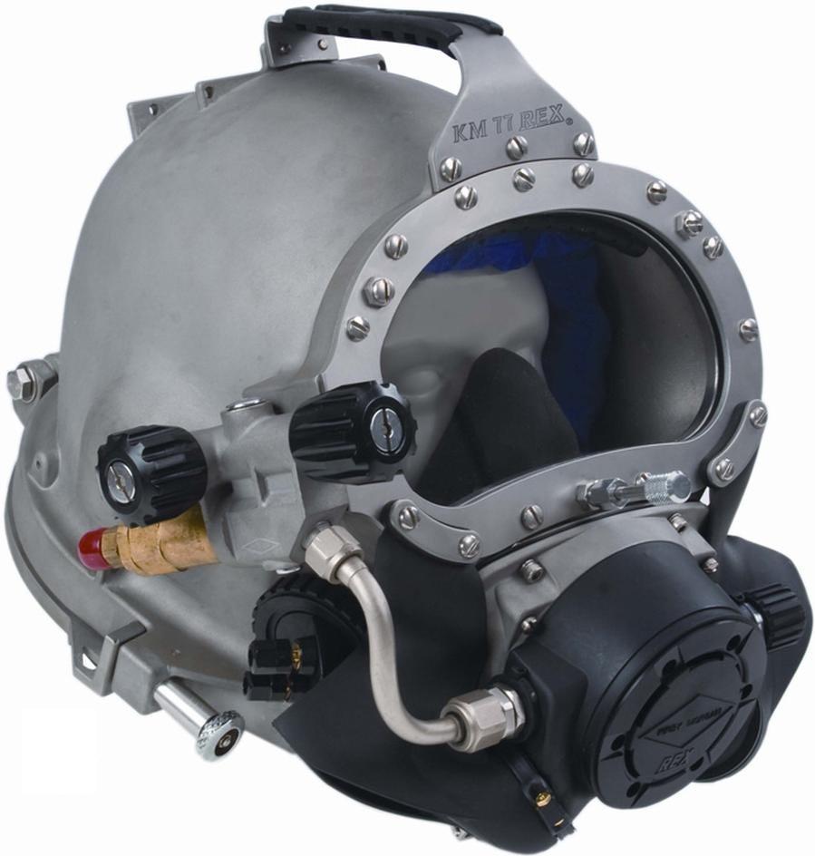 Kirby Morgan 77 Commercial Diving Helmet