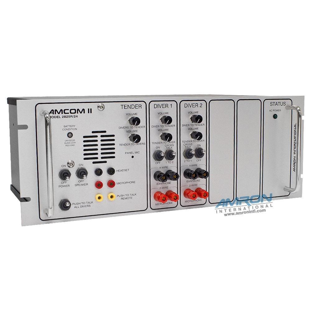 Amron Amcom II 2-Diver Rack Mount Communicator