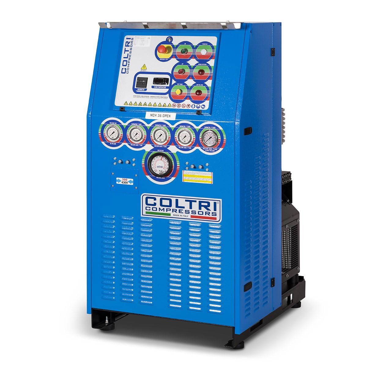 Coltri MCH 22/30/36/45 Heavy Duty Open Compressor