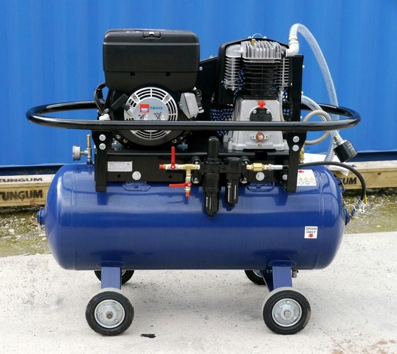 SMP 30 CFM LP Yanmar Compressor
