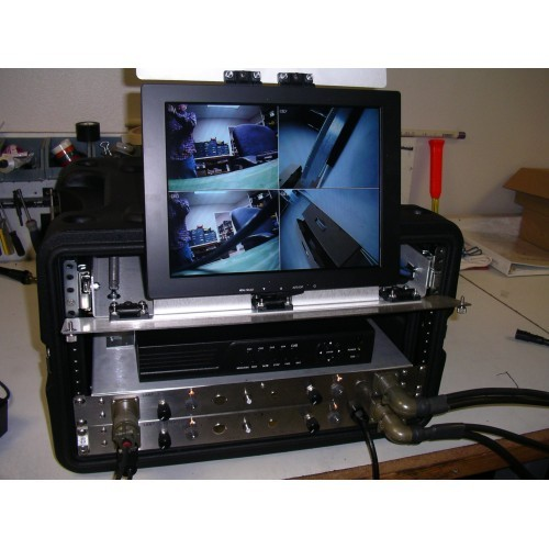 UWS-3210/Q Complete QUAD Portable Color Video System With LED Light