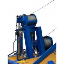 Hydraulic Manriding Winches
