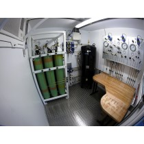 Containerised Nitrox Dive Control System