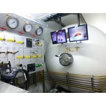 1800mm双锁潜水减压舱控制室