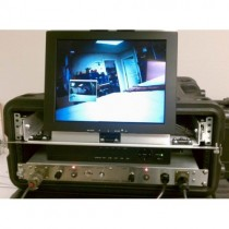 UWS-3210/D Complete Dual Portable Color Video System With LED Light