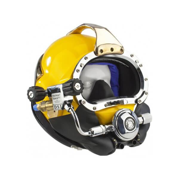 kirby morgan 17b commercial diving helmet