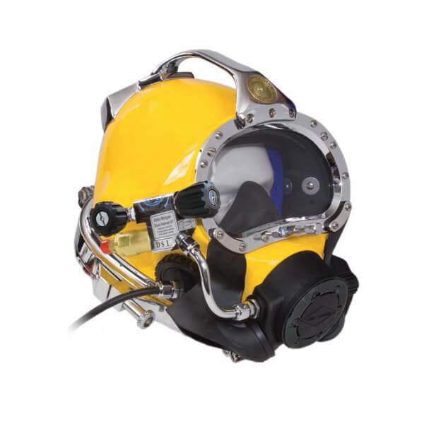 kirby morgan 47 commercial diving helmet