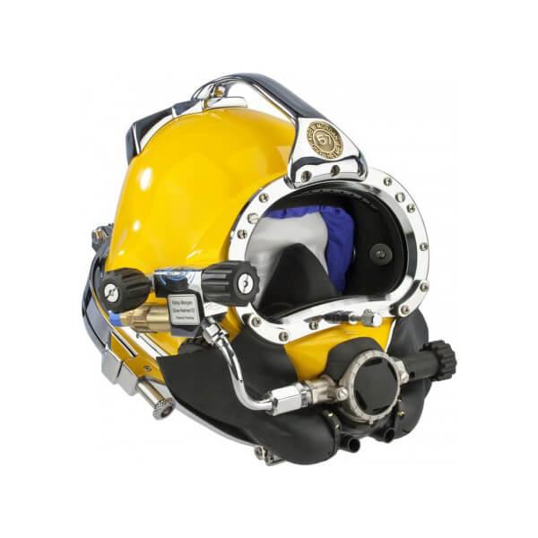 kirby morgan commercial diving helmet 57