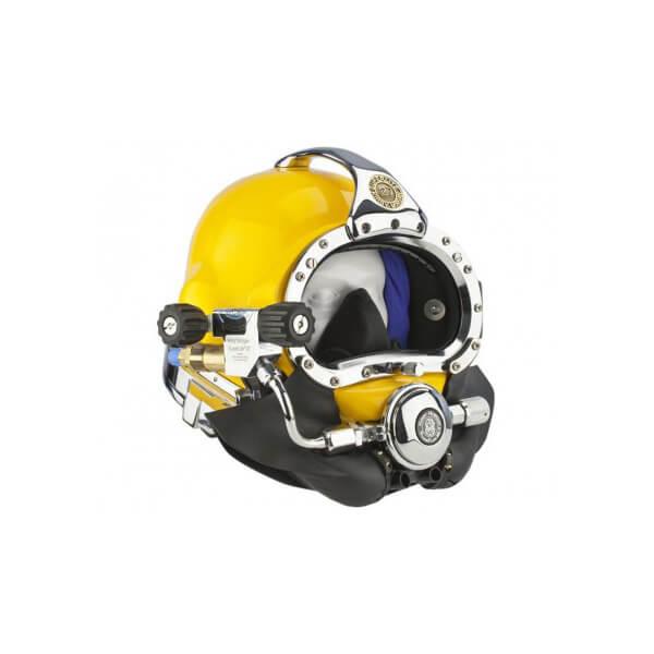 kirby morgan 27 commercial diving helmet