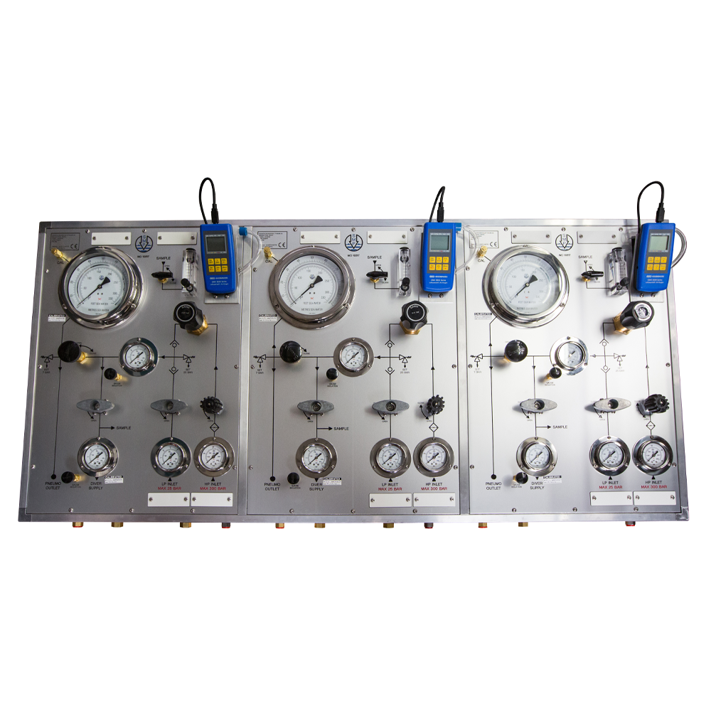 Diving panels and gauges