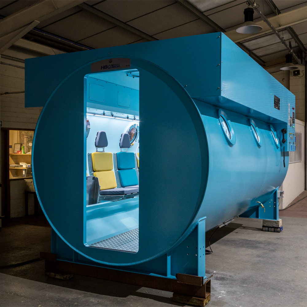 Exterior of Hyperbaric Oxygen Therapy Chamber