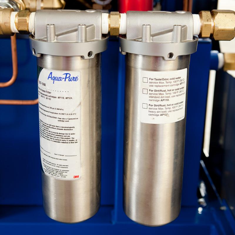 Aqua pure hot water machines