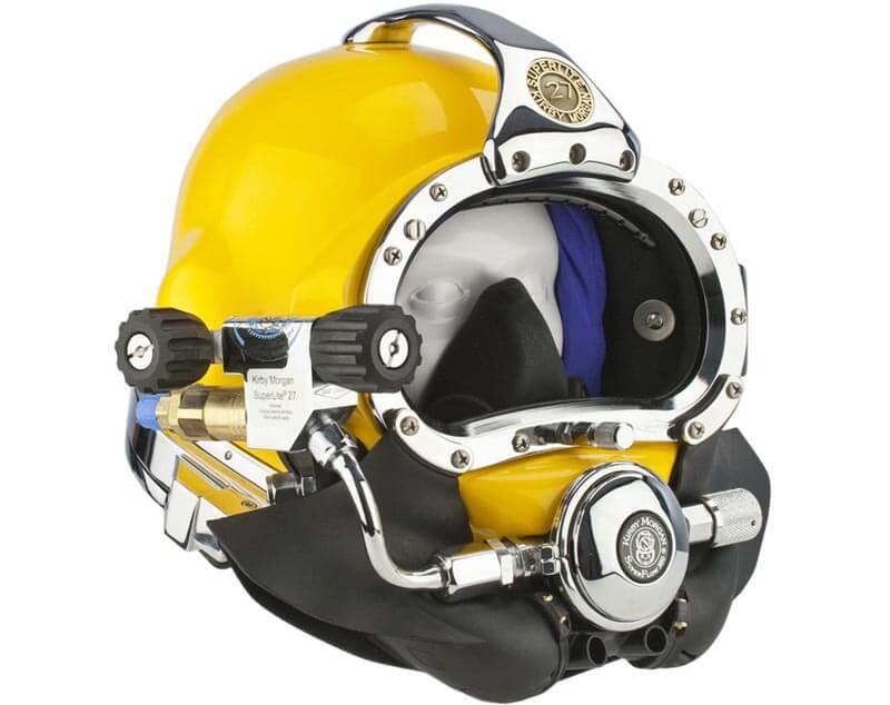 kirby morgan Commercial diving helmet