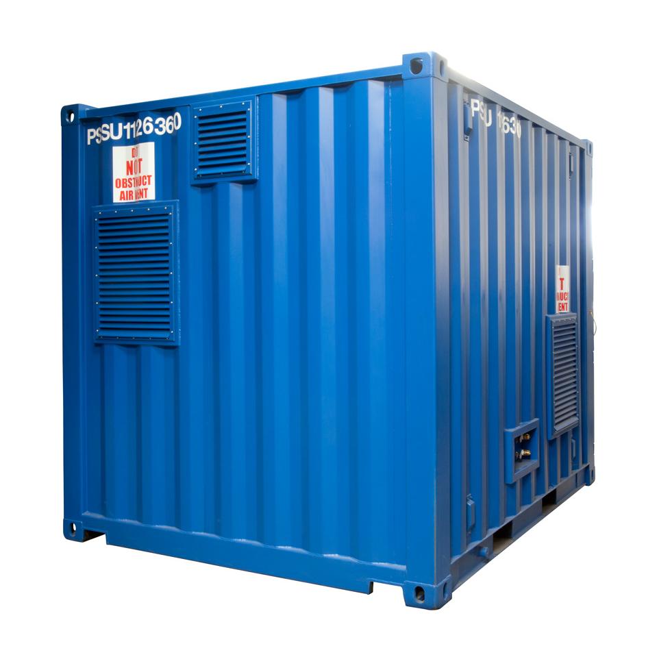 containerised dive equipment