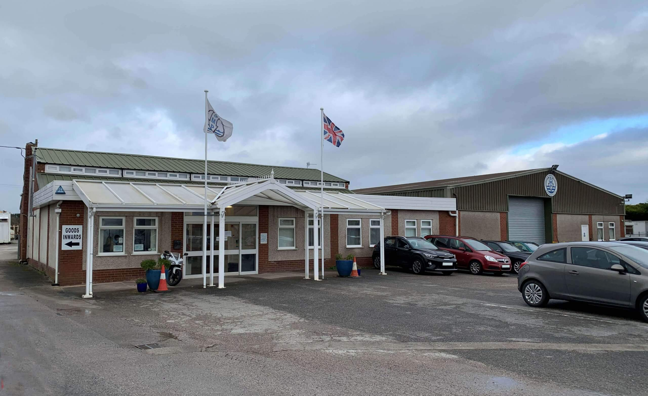 SMP office building and car park