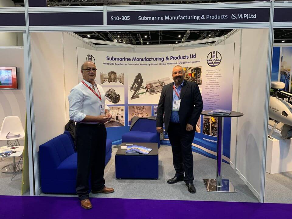 SMP exhibition stand 2019