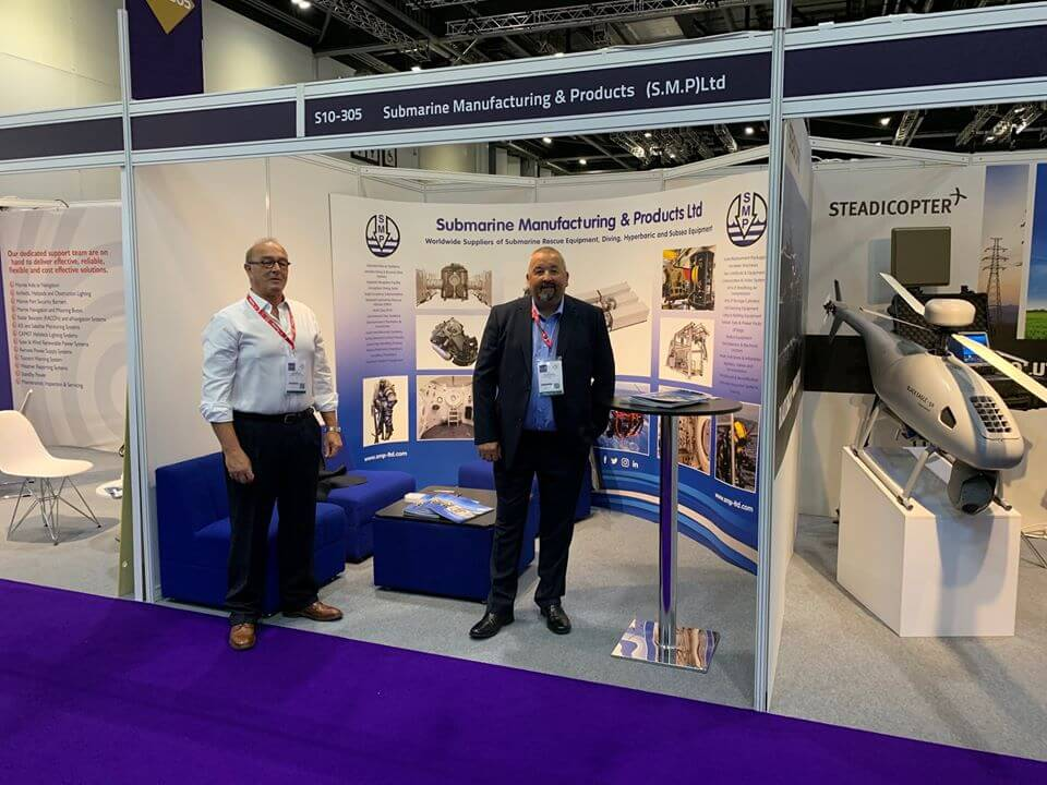 SMP exhibition stand