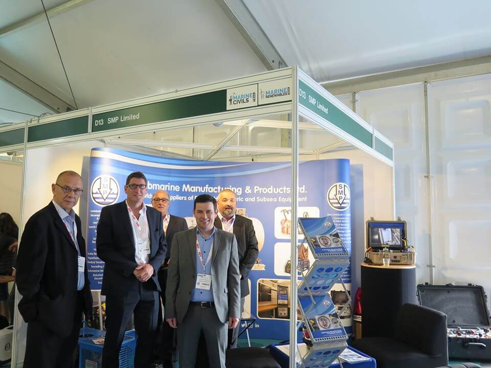 SMP exhibition stand - seaworks 2019